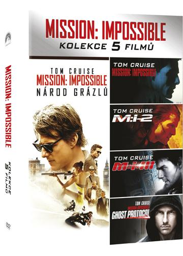 Mission: Impossible kolekce 1-5 - Mission: Impossible Collection