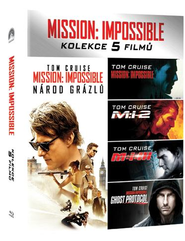 Mission: Impossible kolekce 1-5 (Blu-ray) - Mission: Impossible Collection