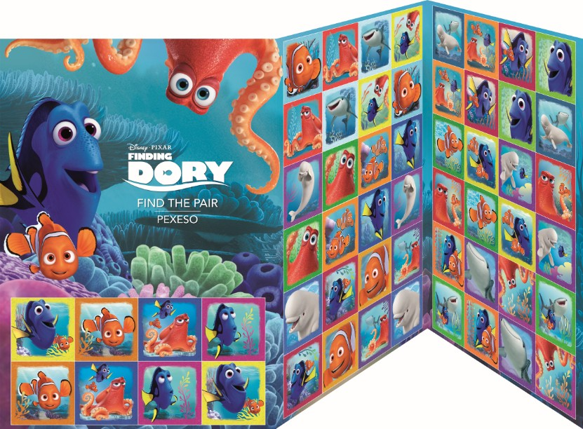 Pexeso - Finding Dory - Find the pair