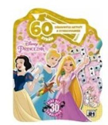60 strán zábavných aktivít a vymaľovaniek - Princezná - Viac než 30 samolepiek