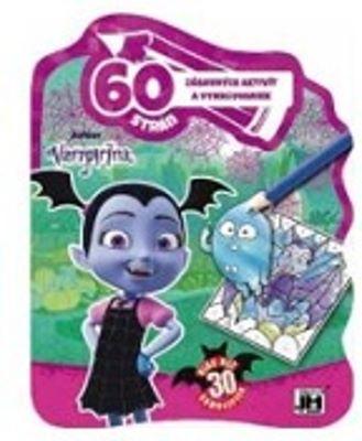 60 strán zábavných aktivít a vymaľovaniek - Vampirina - Viac než 30 samolepiek
