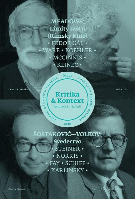Kritika & Kontext (č. 52) - Meadows: Limity rastu / Šostakovič-Volkov: Svedectvo