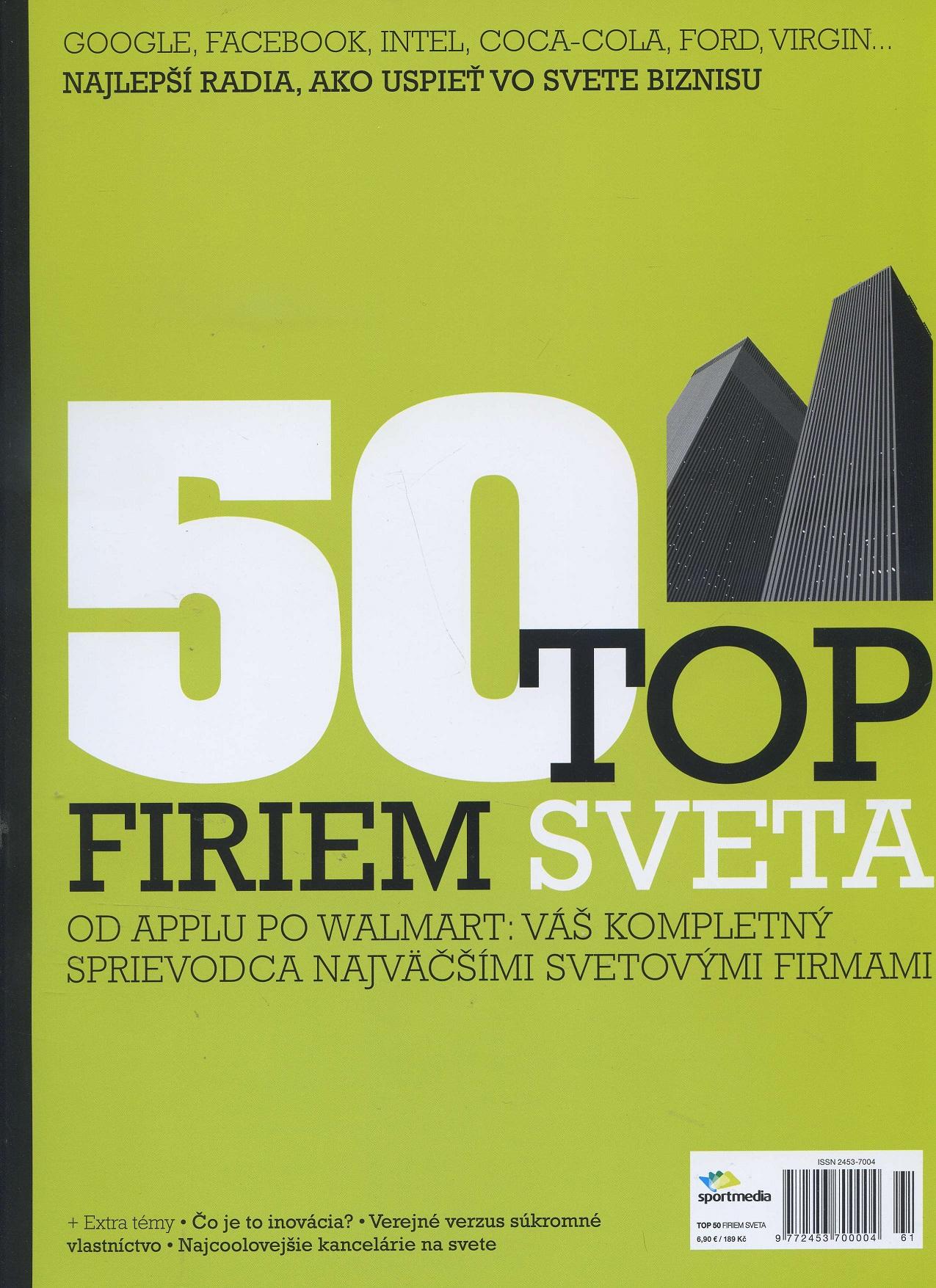 50 TOP firiem sveta