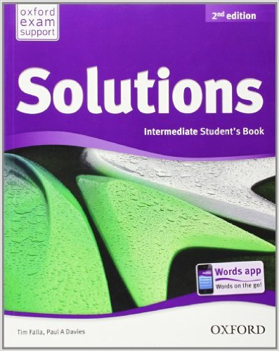 Solutions - Intermediate - Student's Book - Second edition