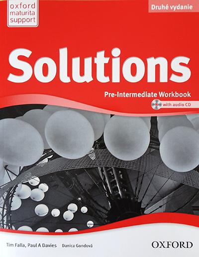 Solutions. Pre-Intermediate - Workbook (druhé vydanie)