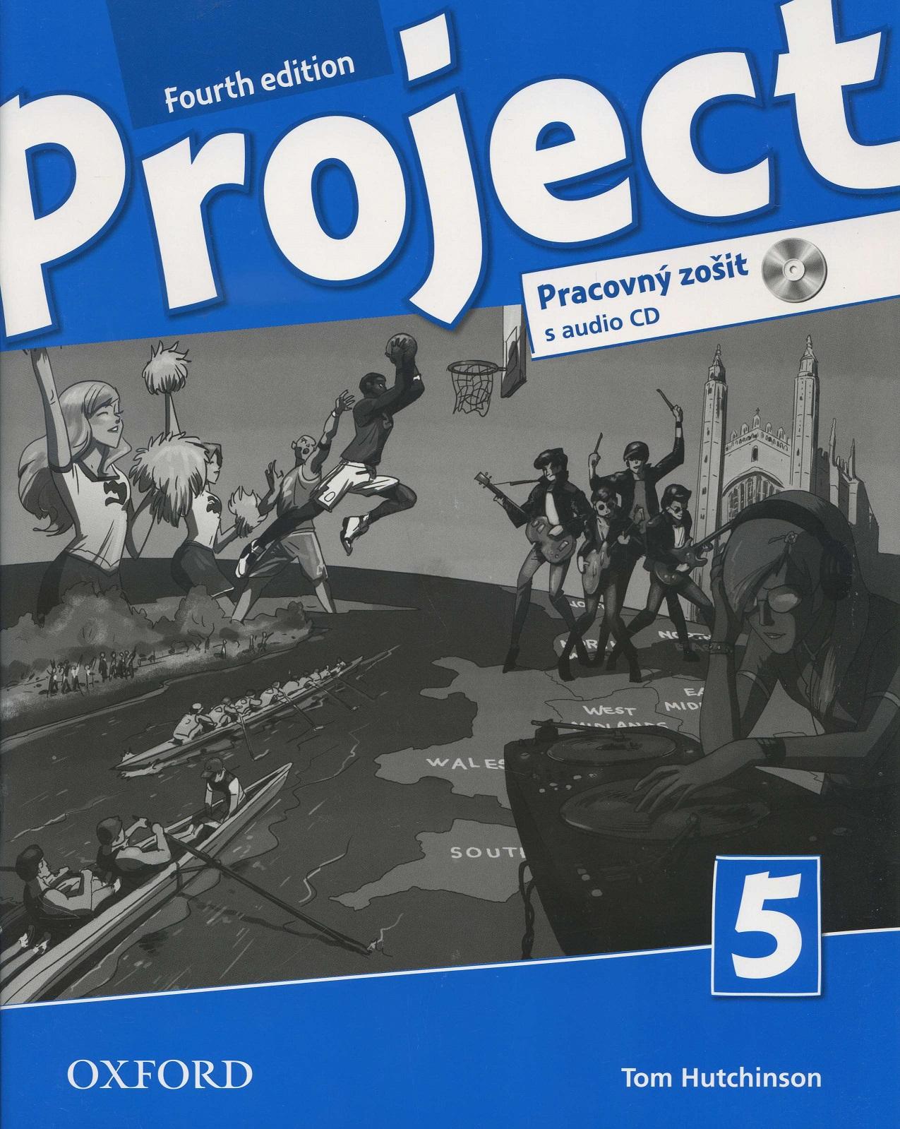 Project 5 - Fourth edition - Pracovný zošit s audio CD