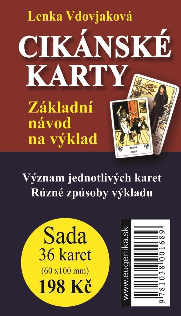 Cikánské karty - Základní návod na výklad (karty + brožura)