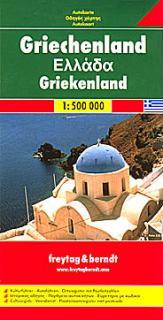 Automapa Řecko 1:500 000