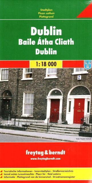 Dublin 1:18 000 - Mapa mesta