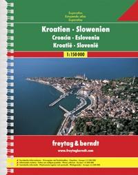 Autoatlas Chorvatsko-Slovinsko A4 atlas 1: 150 000 - Superatlas