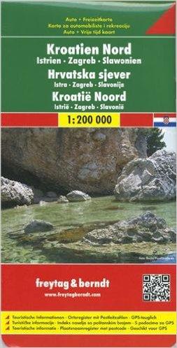 Automapa Chorvatsko sever 1:200 000