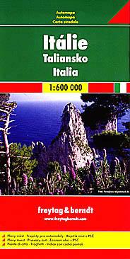 Automapa Itálie 1 : 600 000