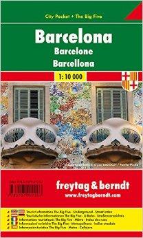 Barcelona / city plan 1:10 000