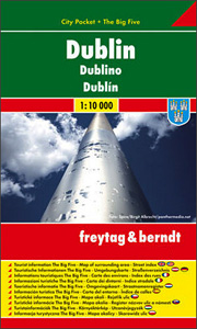 Dublin / city plan 1:10 000
