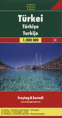 Automapa Turecko 1:800 000/1:2 000 000