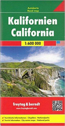Kalifornien 1:600 000 - Automapa