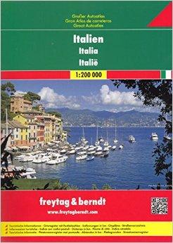 Itálie 1:200 000 - Autoatlas