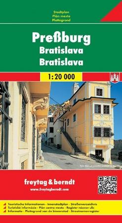 Bratislava 1:20 000 - Automapa