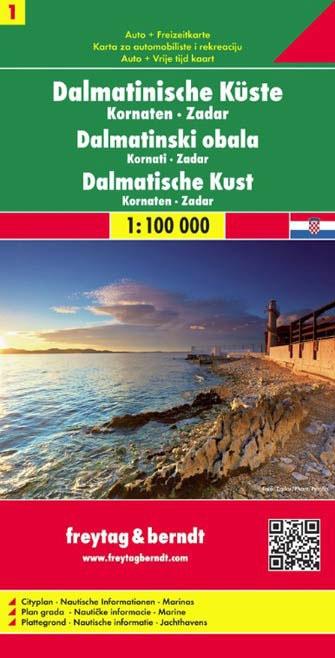 Dalmácie 1. 1:100 000 - Automapa