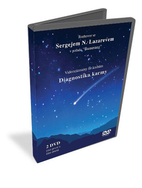 "Diagnostika karmy - Rozhovor se Sergejem N. Lazarevem v pořadu ""Bumerang"" - Videozáznamy ke knihám ""Bumerang"""