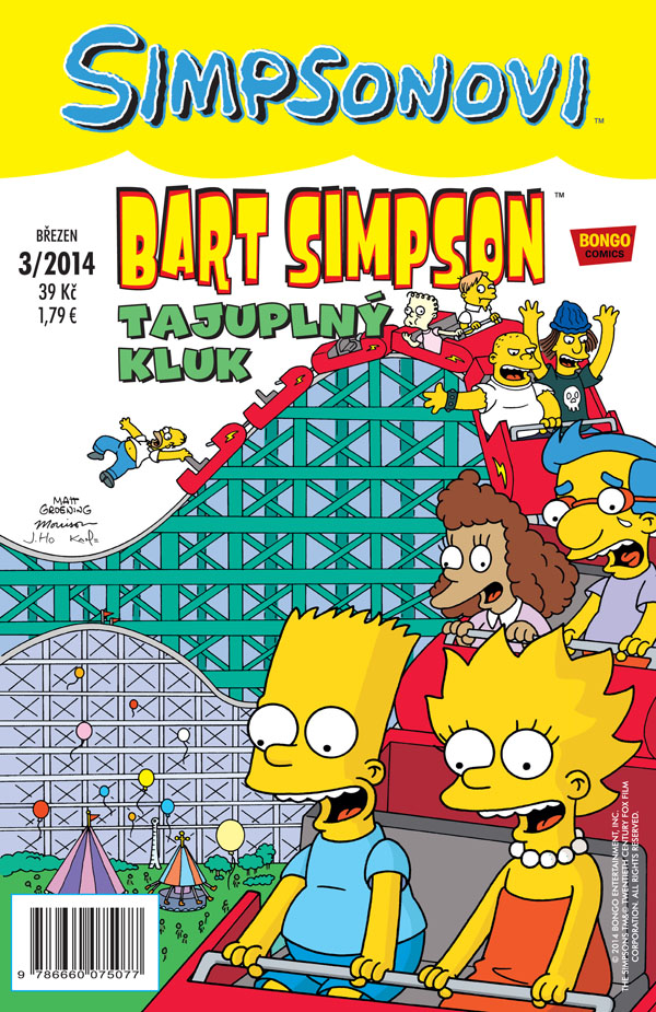 Bart Simpson 3/2014: Tajuplný kluk