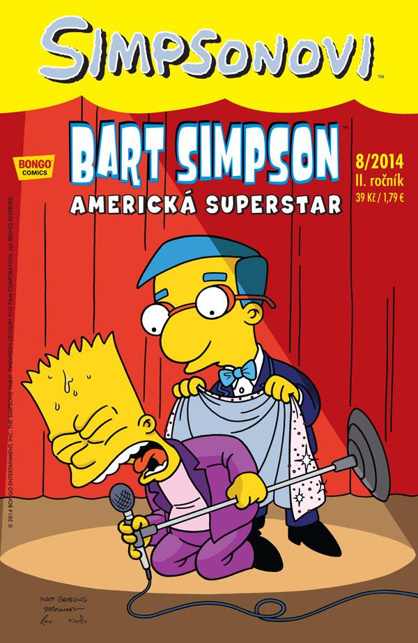 Bart Simpson 8/2014: Americká superstar