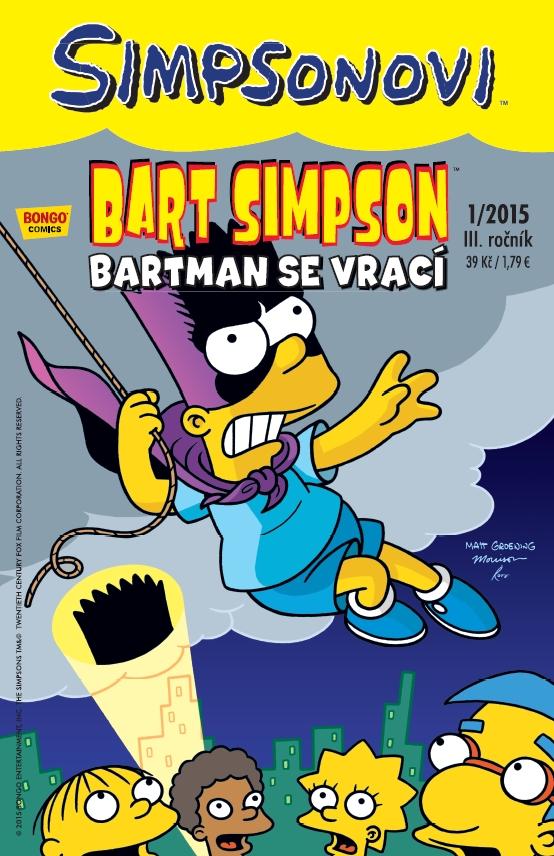 Bart Simpson 1/2015: Bartman se vrací