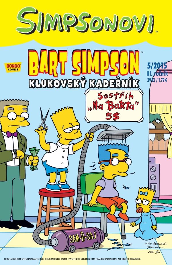 Bart Simpson 5/2015: Klukovský kadeřník