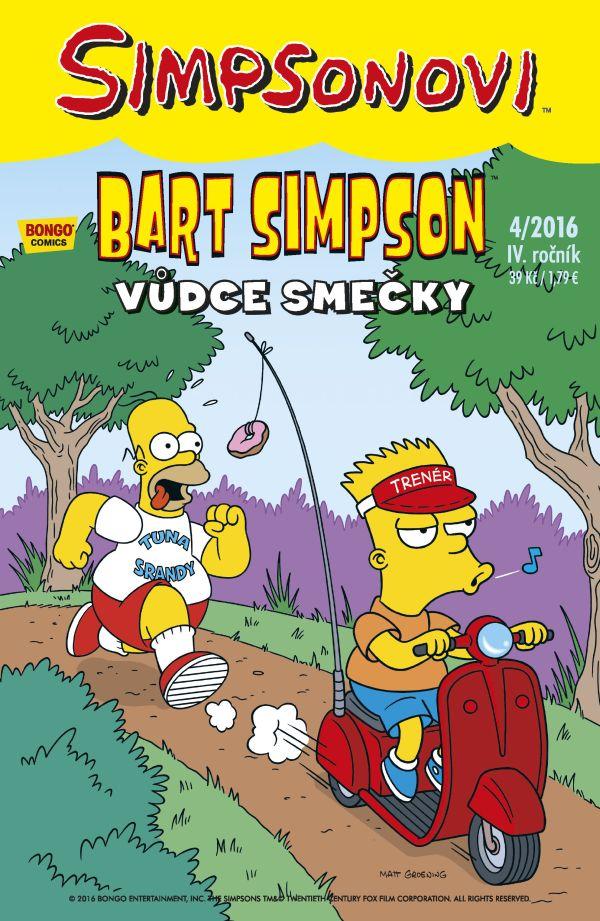 Bart Simpson 4/2016: Vůdce smečky