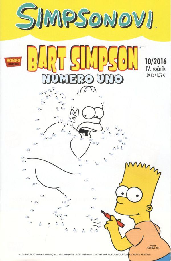 Bart Simpson 10/2016: Numero uno