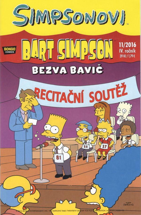 Bart Simpson 11/2016: Bezva bavič
