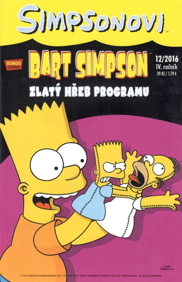 Bart Simpson 12/2016: Zlatý hřeb programu