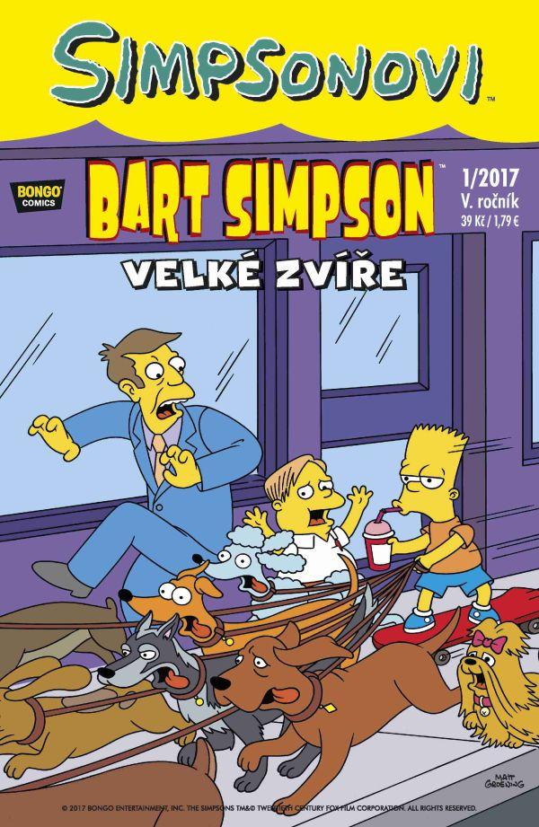 Bart Simpson 1/2017: Velké zvíře