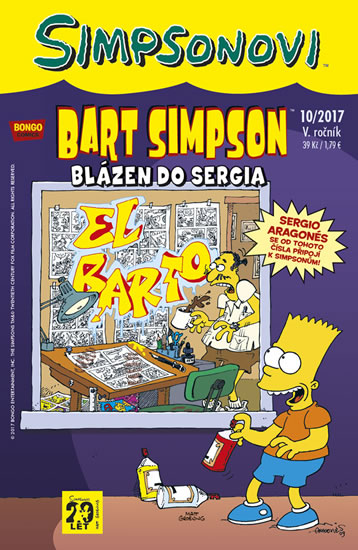 Bart Simpson 10/2017: Blázen do Sergia