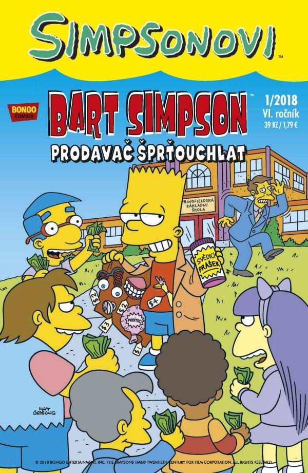 Bart Simpson 1/2018: Prodavač šprťouchlat