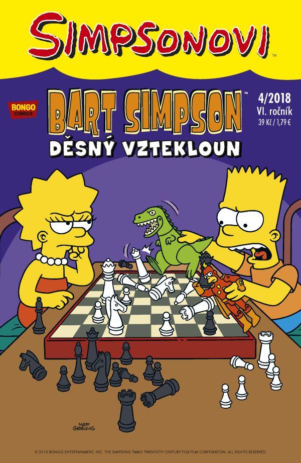 Bart Simpson 4/2018: Děsný vztekloun