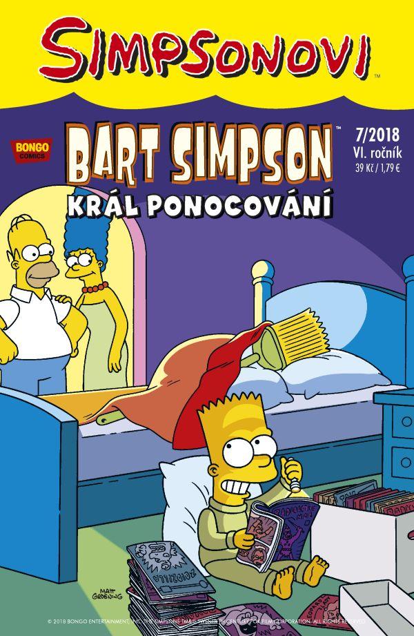 Bart Simpson 7/2018: Král ponocování