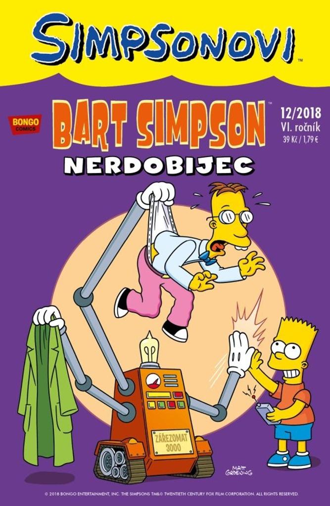 Bart Simpson 12/2018: Nerdobijec