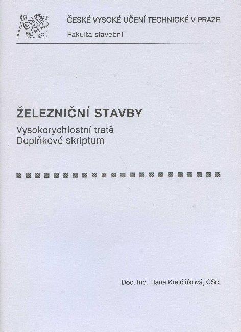 Železniční stavby - Vysokorychlostní tratě