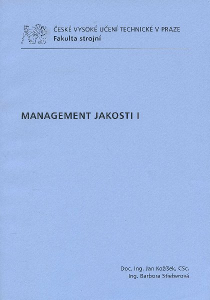 Management jakosti I
