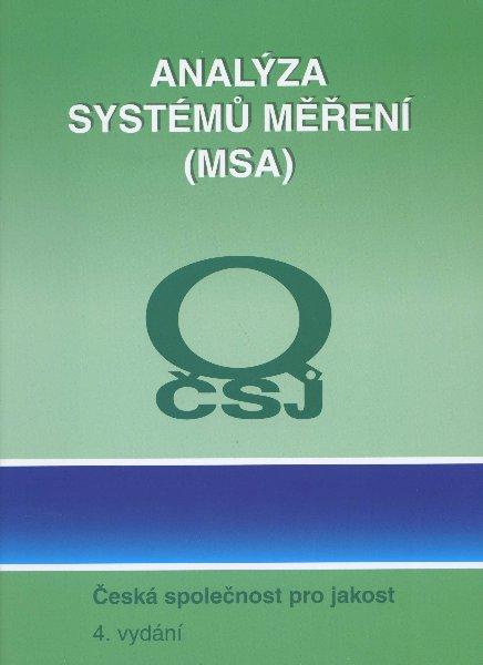 Analýza systémů měření (MSA) - 4. vydání
