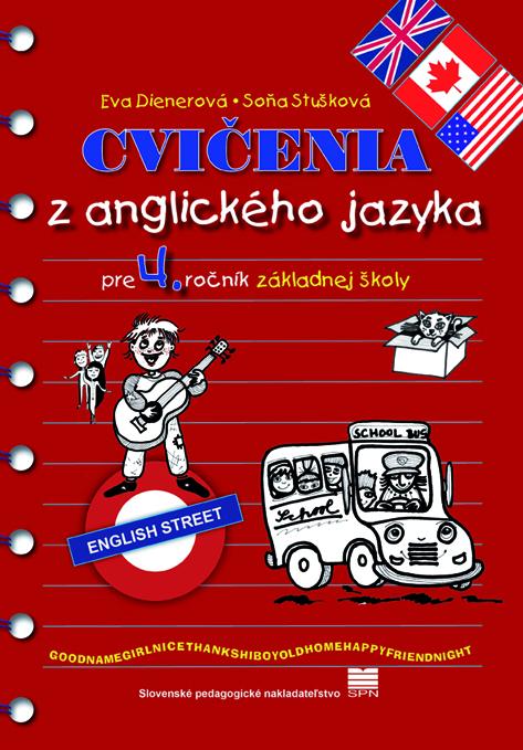 Cvičenia zanglického jazyka pre 4. ročník základnej školy