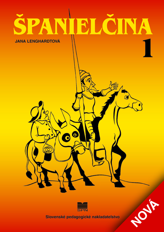 Španielčina 1, 2 - Dvojdielna učebnica