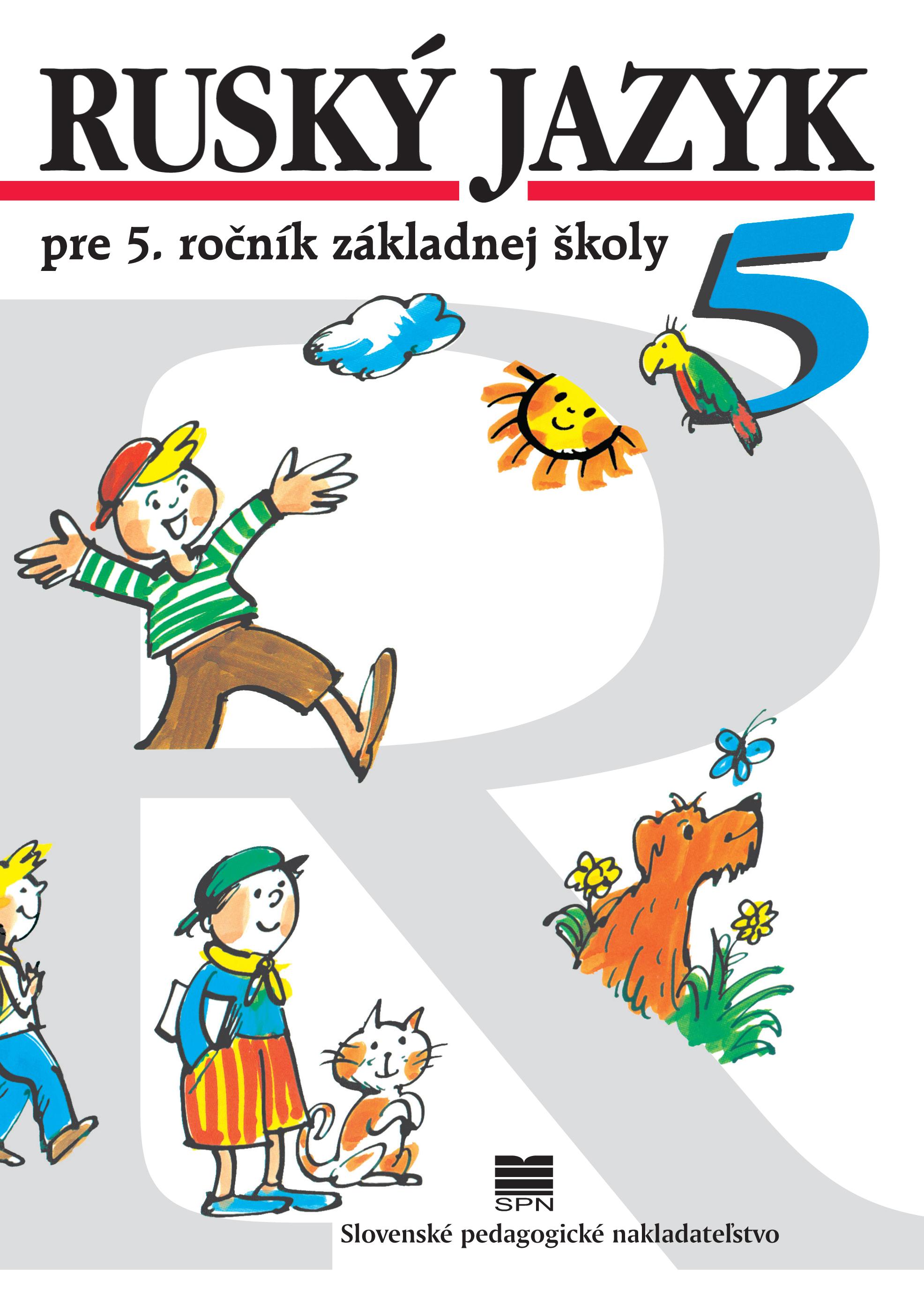 Ruský jazyk pre 5. ročník základnej školy