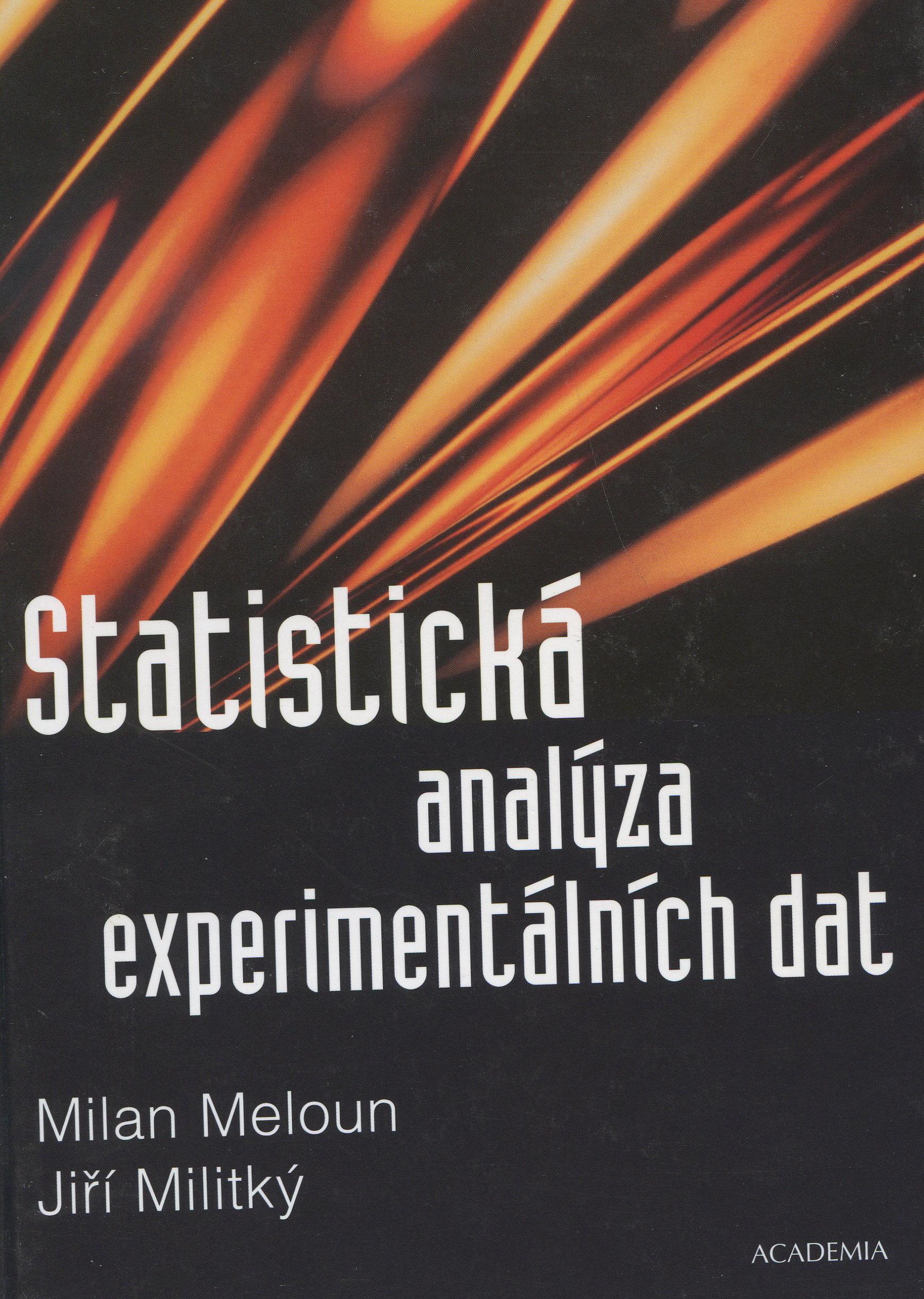 Statistická analýza experimentálních dat