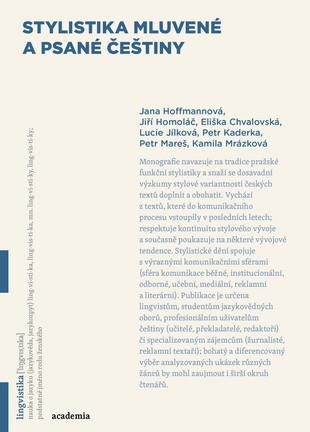 Stylistika mluvené a psané češtiny