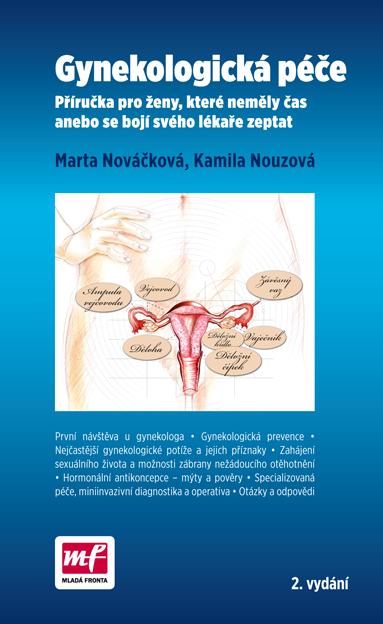 Gynekologická péče 2. vydání - Příručka pro ženy, které neměly čas anebo se bojí svého lékaře zeptat