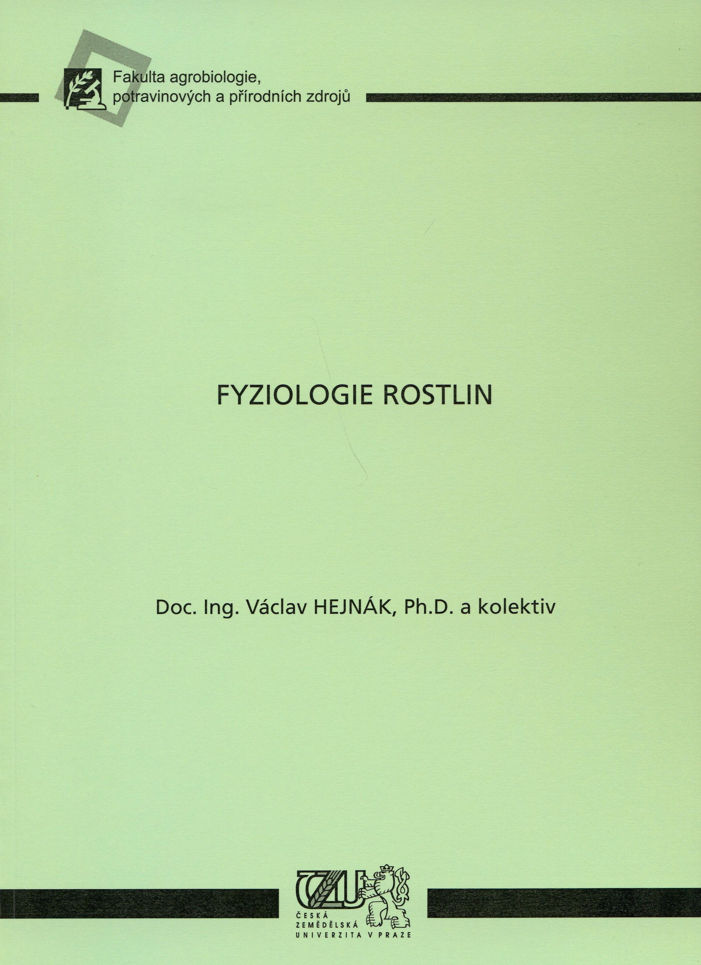 Fyziologie rostlin