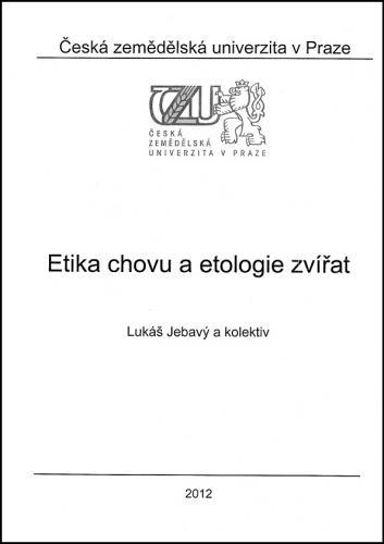 Etika chovu a etologie zvířat