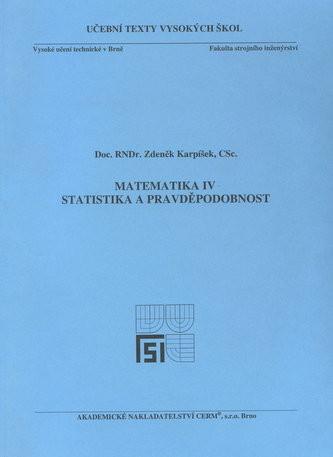 Matematika IV - Statistika a pravděpodobnost